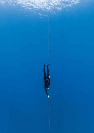 Experienced freediver